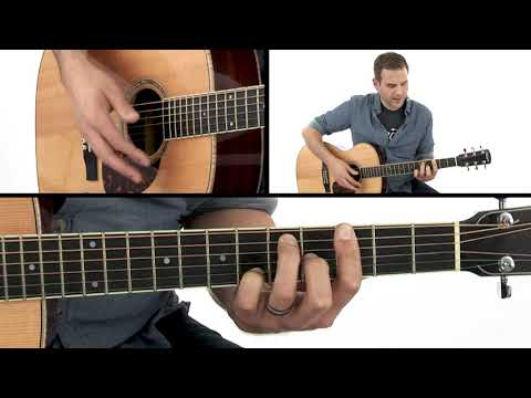 Fingerstyle Blues Guitar Lesson - Common Country Blues Chords - John Hatcher