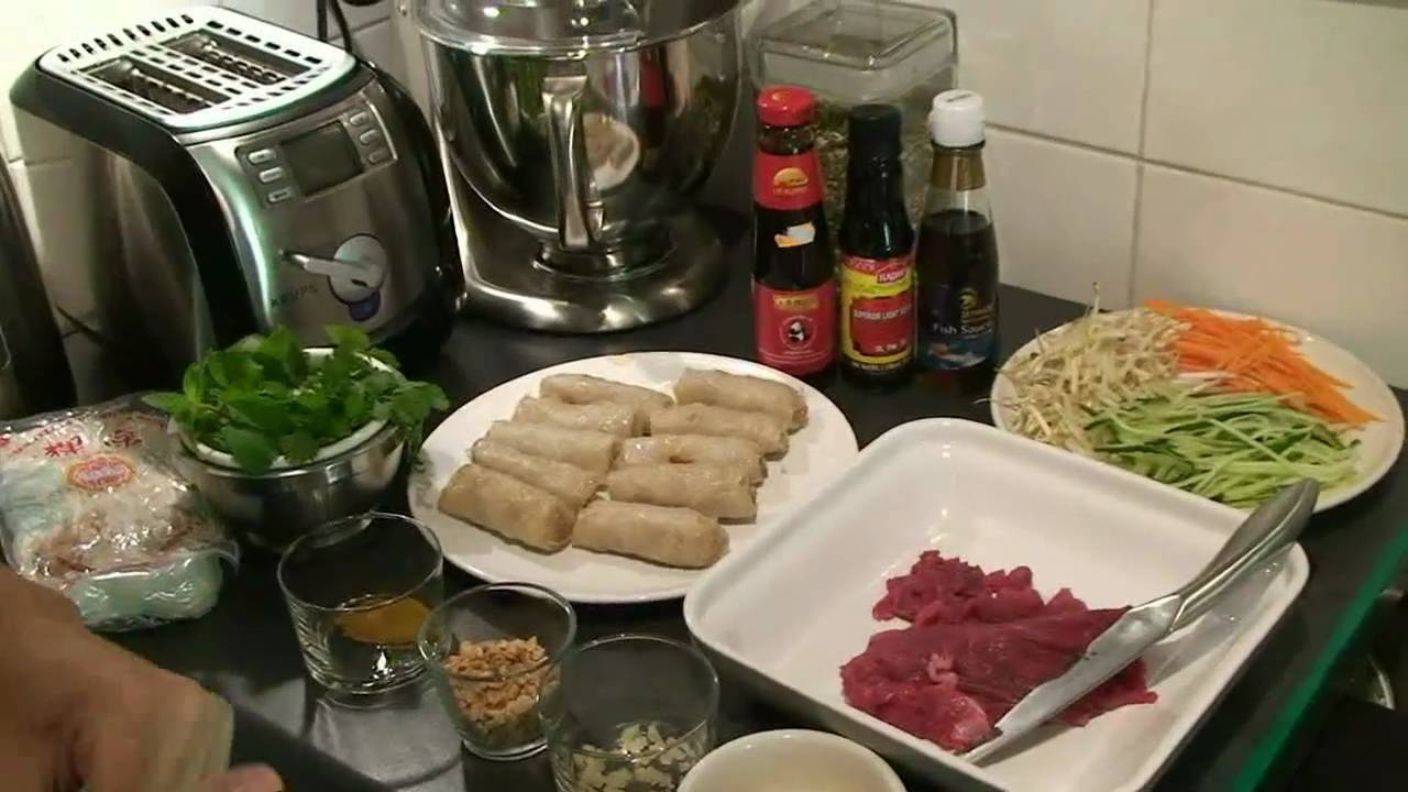 Bobun vietnamien youtube - Youtube herve cuisine ...
