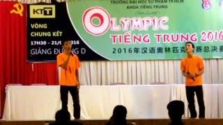 痴心绝对 ( Si Tâm Tuyệt Đối )- Hồ Phúc ft. Nhũ Quân tại Olympic Tiếng Trung 2016