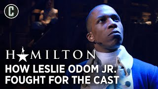 Emmy Raver-lampman Remembers When Leslie Odom Jr. Fought For The Cast Of Hamilton