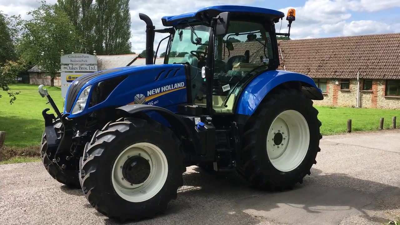 New Holland Tractor People : New holland t tractor youtube