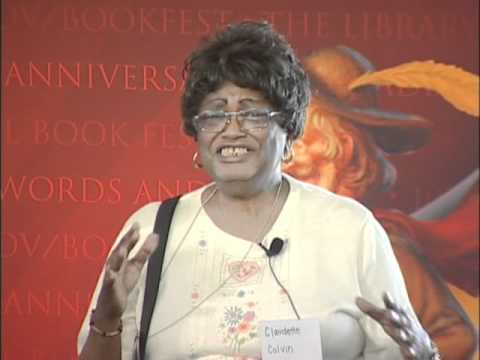 Phillip M. Hoose & Claudette Colvin: 2010 National Book Festival