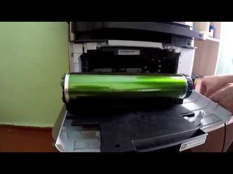 Ошибка.Замените блок переноса изображения на лазерном принтере Samsung Clx 3305  обнуляем счётчики.
