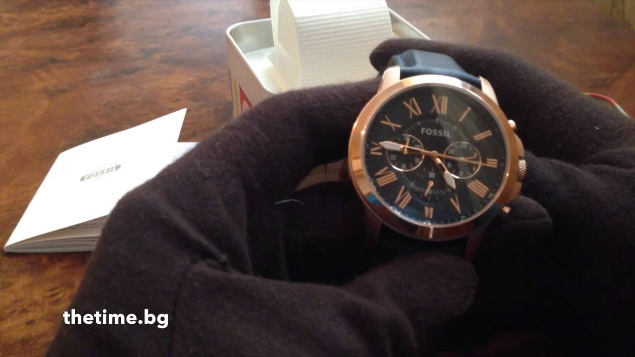 Connu Мъжки часовник Fossil FS4835 - YouTube EJ03
