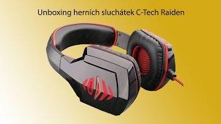 Sluchátka C-Tech Raiden (unboxing a recenze)