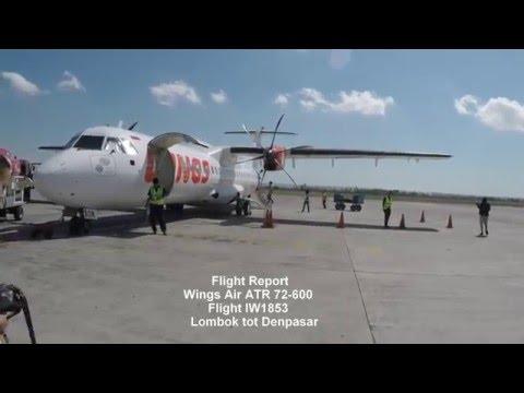 Flight Report | Wings Air ATR 72-600 Lombok to Bali Denpasar