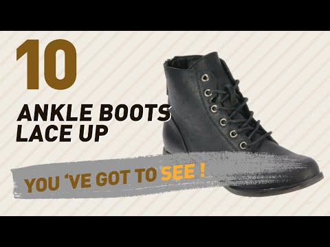 Ankle Boots Lace Up // New & Popular 2017