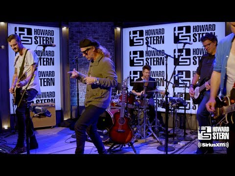 "Collective Soul ""Heavy"" In Howard Stern's Studio"