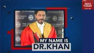 Actor Shah Rukh Khan Awarded Doctorate Degree, Delivers Life Lessons, More!