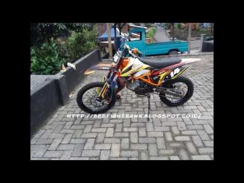 Modifikasi Motor Modifikasi Motor Trail Yamaha Jupiter Mx