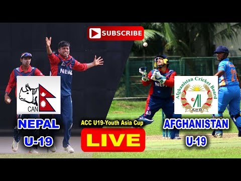 Nepal vs Afghanistan LIVE HD  2nd Semi Final  ACC U19 Youth Asia Cup 2017