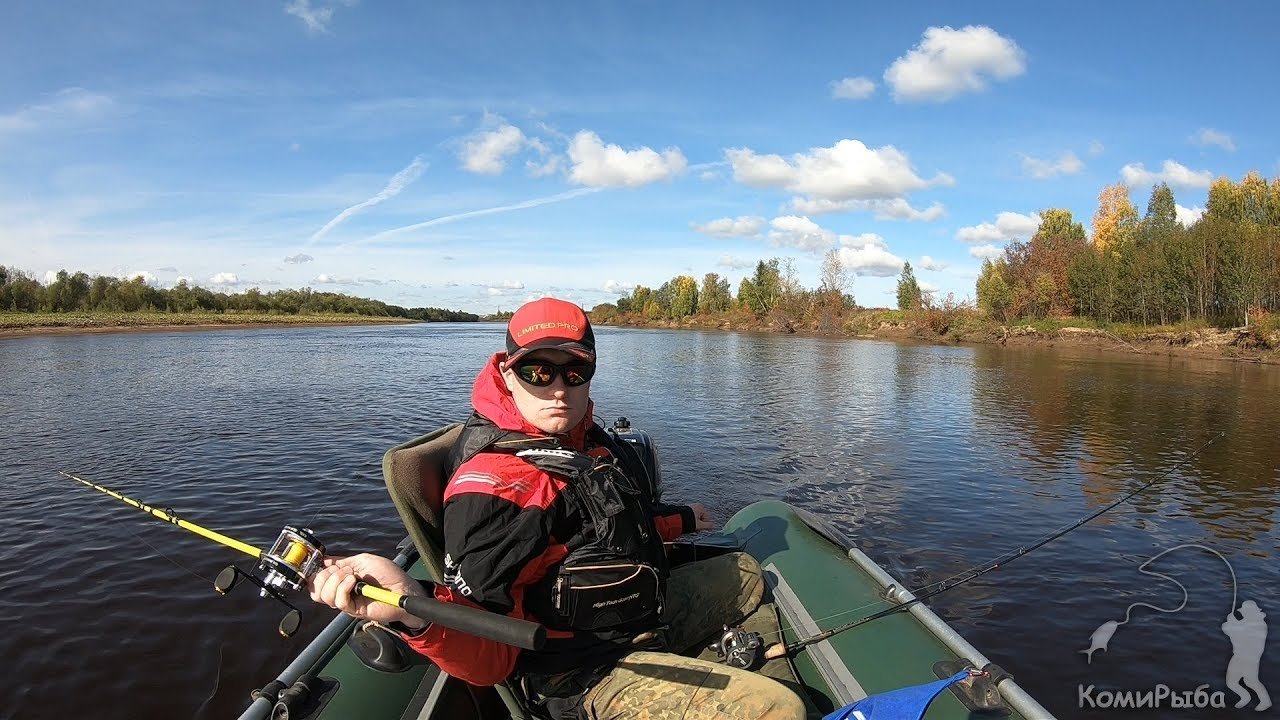 Троллинг поздней осенью на реке