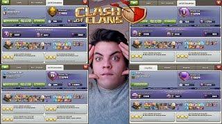 KÖY İNCELEMERİ #10 (SİNİRLENDİM) Clash of Clans