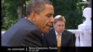 Obama & Putin Breakfast -  No comment