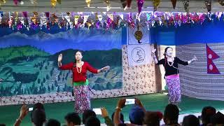 kadam chala agi pachhi -Astha raut l LYC dance club presents l nepali stage dance