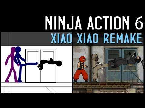Ninja Action 6: Xiao Xiao Remake