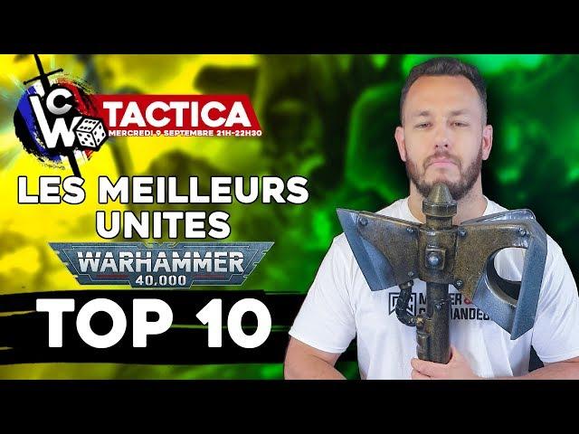 Warhammer 40000 LIVE - TOP 10 Des