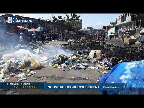 GABON / LIBREVILLE : Nouveau déguerpissement des commerçants de la gare routière