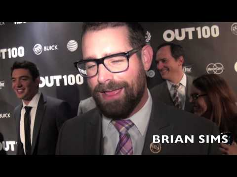 BRIAN SIMS on Being a Sex Symbol