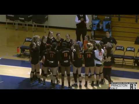 Princeton vs Yale volleyball 2016