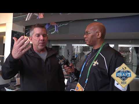 2018 NFL Combine: Saints Head Coach Sean Payton