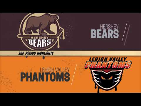 Hershey Bears 2 at Lehigh Valley Phantoms 6 (November 23, 2018)