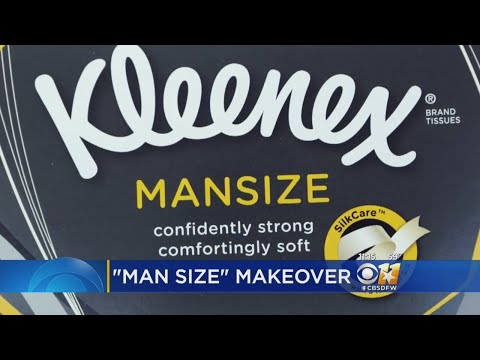 Brady - Kleenex To Change Name of 'Man-Sized Tissues'