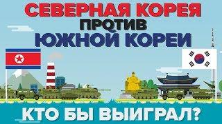 Северная Корея против Южной Кореи - Кто выиграет - Сравнение армий / Армии