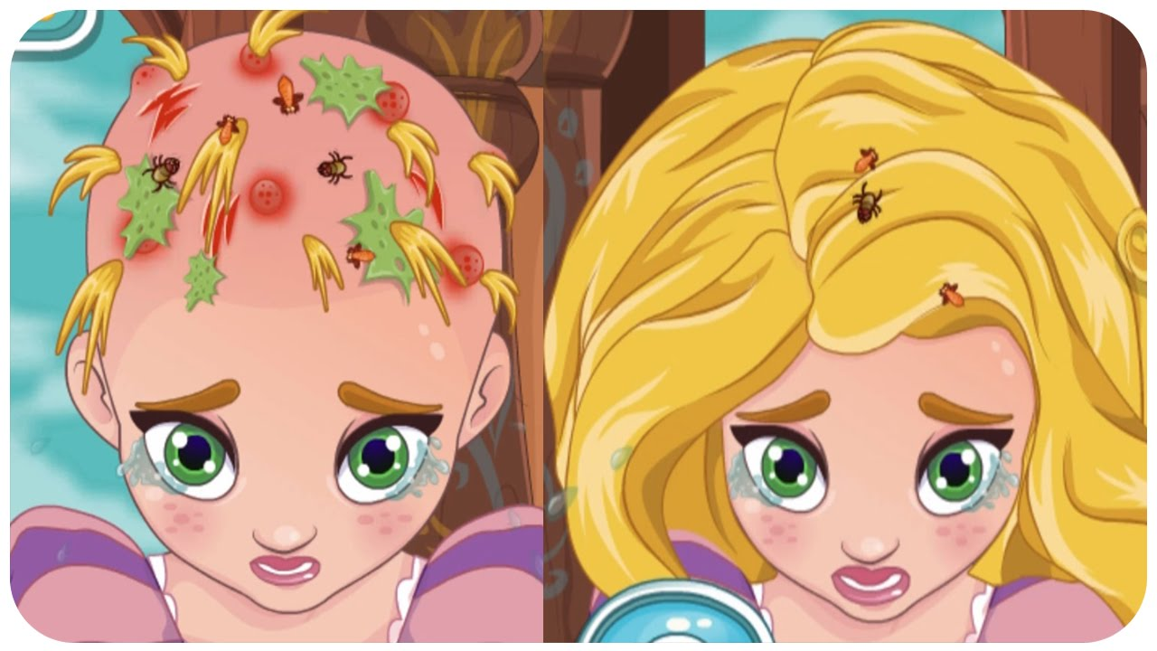 Rapunzel Hair Doctor Baby Rapunzel Hair Doctor Game Baby Games