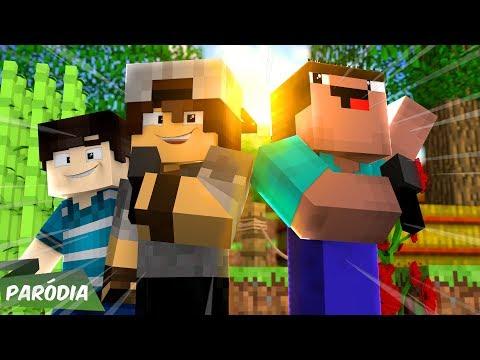 Minecraft: PARÓDIA - Pabllo Vittar - K.O | PARÓDIA K.O [HEROBRAINE ME PEGOU] - (MINECRAFT) c/SrPedro