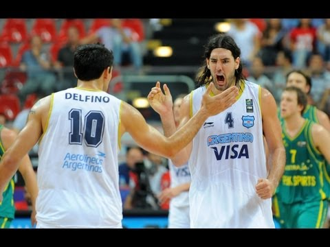 Olympic Basketball Tournament - Team Argentina