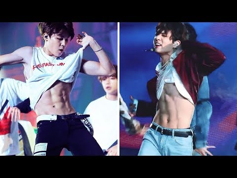 BTS (방탄소년단) Abs & Wardrobe Malfunctions
