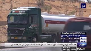 1/4/2020 -   310 آلاف برميل نفط مستوردات المملكة من النفط الخام العراقي في آذار