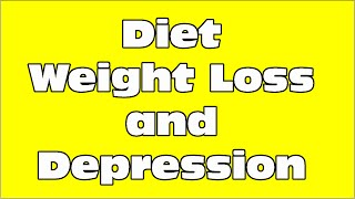 Diet Depression and Weight Loss - Step12.com