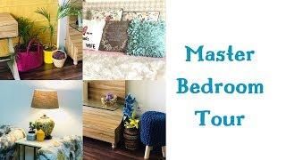 MY MASTER BEDROOM TOUR | HOW TO UPGRADE OLD FURNITURE? #shimmerandmusebysapna