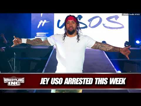 WWE Superstar Jey Uso Arrested For DUI