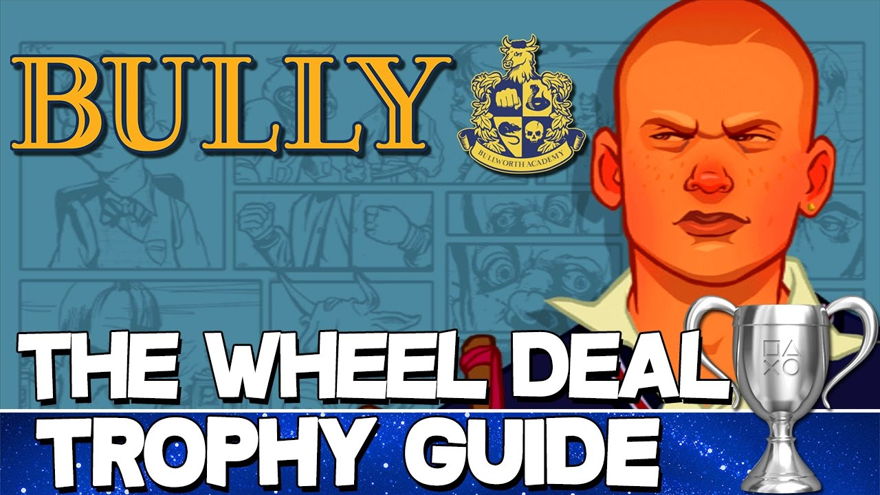 bully trophy guide and roadmap