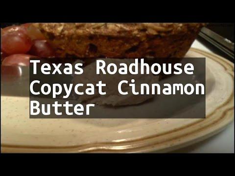 Recipe Texas Roadhouse Copycat Cinnamon Butter