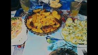 4 Рецепта на Новогодний стол Горячее салат закуска десерт ИДЕИ ЧТО МОЖНО ПРИГОТОВИТЬ