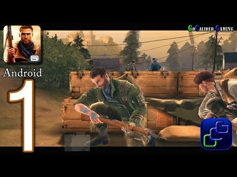 Brothers In Arms 3: Sons Of War Android Walkthrough - Part 1 - Chapter 1, Campaign 1, Raid
