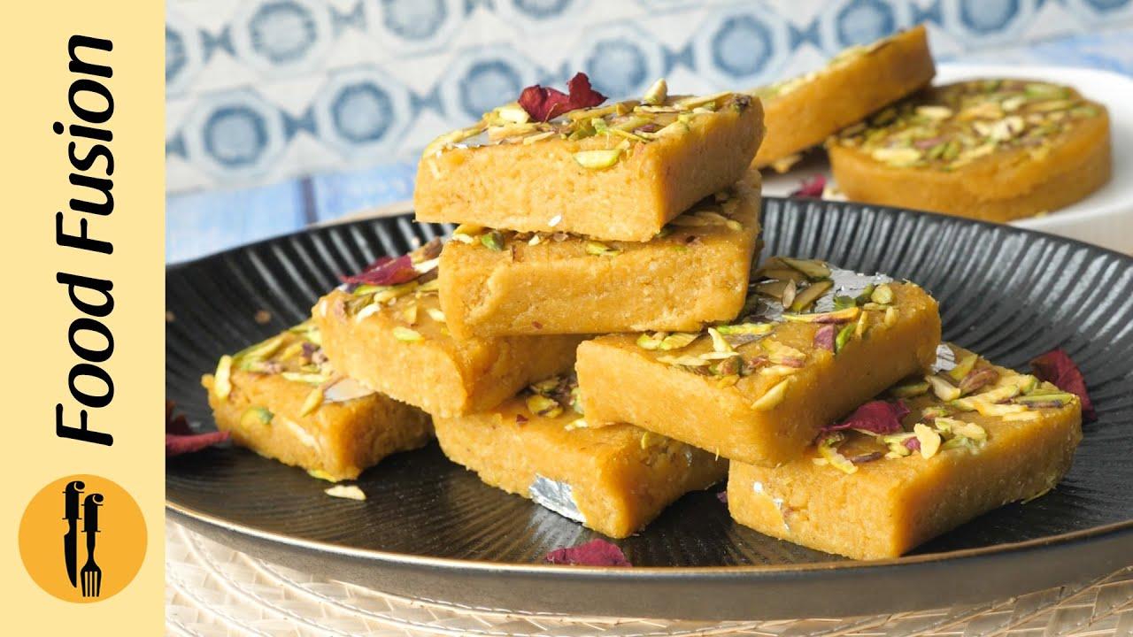 Mango Barfi Recipe By Food Fusion