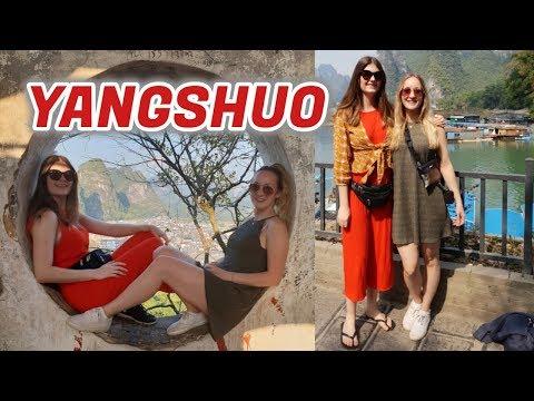 Exploring the sights of YANGSHUO! China Travel Vlog