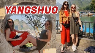 Exploring the sights of YANGSHUO! China Travel Vlog