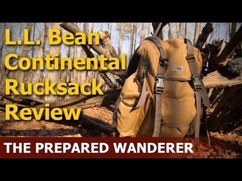 L. L.  Bean Continental Rucksack Review
