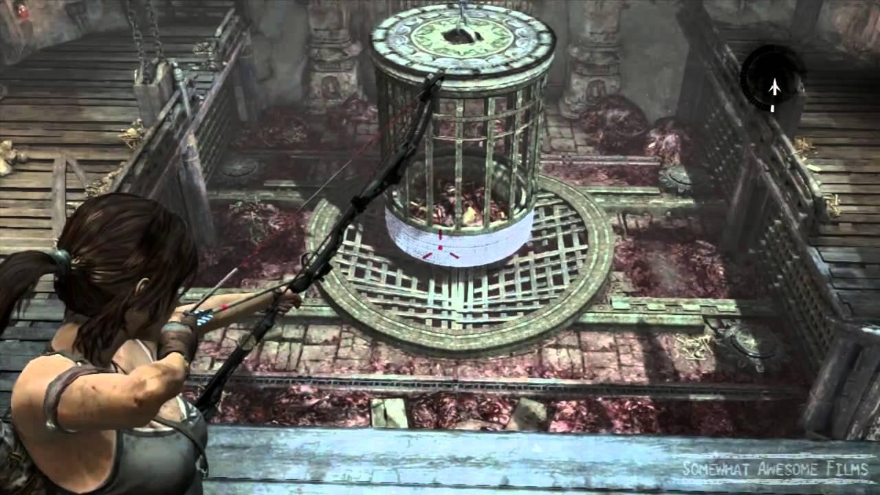 Tomb Raider Chasm Shrine Puzzle - YouTube