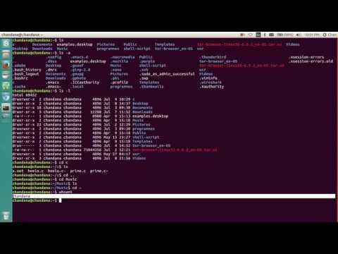 UNIX Commands:A Beginner
