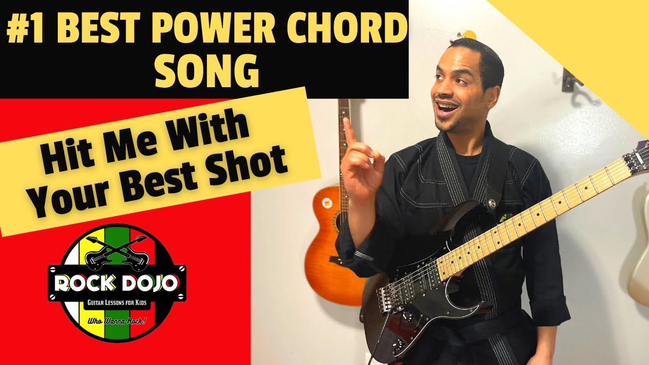15 Best Power Chord Song Hit Me with Your Best Shot by Pat Benetar