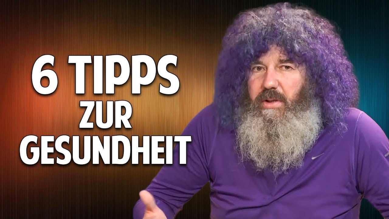 Die große Krankheiten-Liste: Was Robert Franz tun würde.