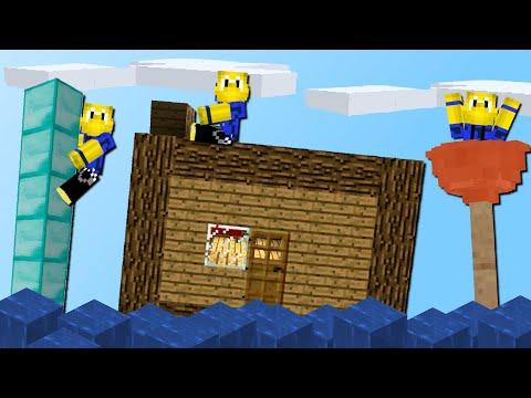 Wir bauen fahrbare Schiffe aus ALLEN Blöcken! (TNT, Haus-Boot, Diamanten)