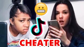 TikTok Girls CATCH THEIR CHEATING BOYFRIENDS! 👀💔😱